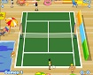 2 player tennis game